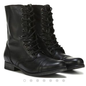 STEVE MADDEN Women's Troopa Combat Boot